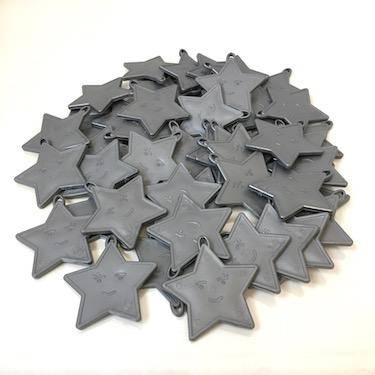 Silver Star Balloon Weights  x 100