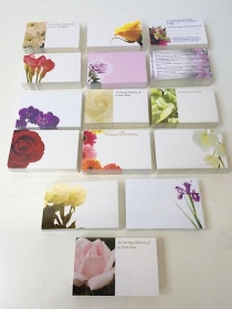 Funeral Cards Small
