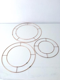 Wire Wreath Rings
