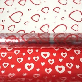 Hearts Cellophane