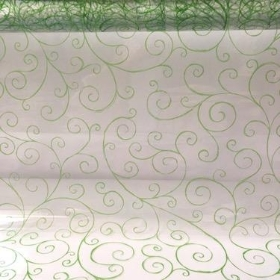 Scroll Cellophane Green 100m