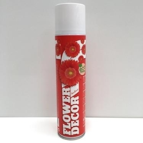 Flower Spray Paint Red