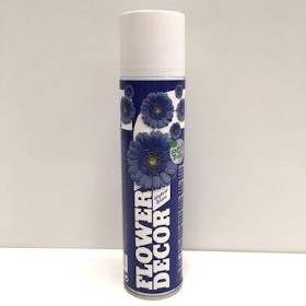 Flower Spray Paint Blue