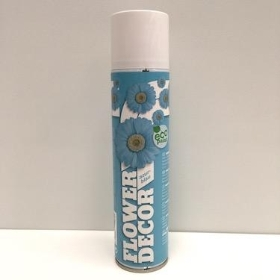 Flower Spray Paint Azure Blue
