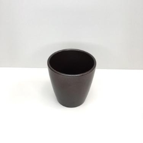 Pearlised Brown Orchid Pot