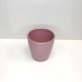 Pearlised Pink Orchid Pot