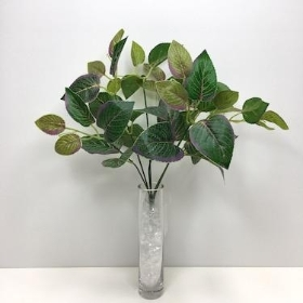 Green Lilac Rose Leaf 33cm