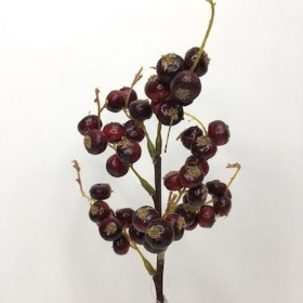 Deep Red Berry Spray 35cm