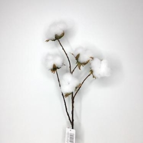 Cotton Pod Spray 68cm