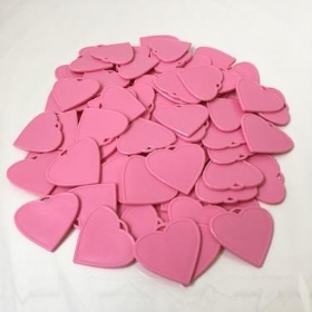 Pink Heart Shape Balloon Weights