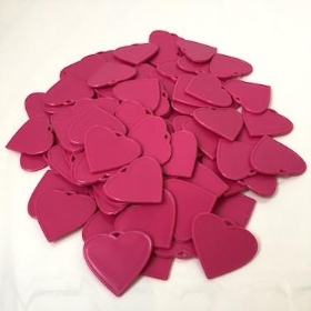 Cerise Heart Shape Balloon Weights