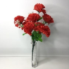 Red Carnation Bush 36cm