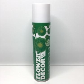 Flower Spray Paint May Green
