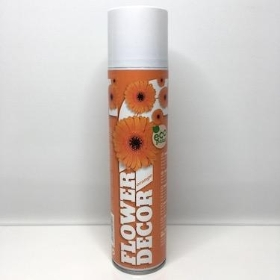 Flower Spray Paint Orange