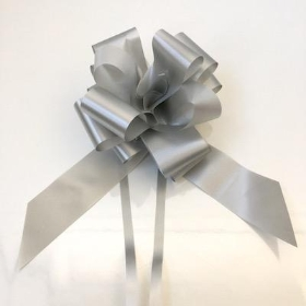 Silver Pull Bow 50mm x 20