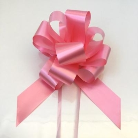 20 x New Pink Pull Bow 50mm