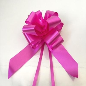 20 x Cerise Pull Bow 50mm