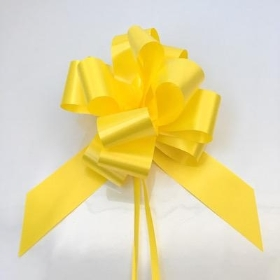 20 x Yellow Pull Bow 50mm