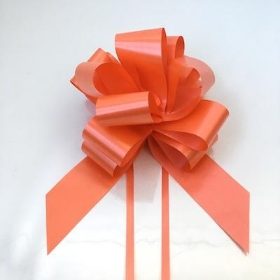 20 x Orange Pull Bow 50mm