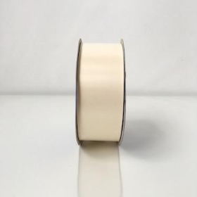Eggshell Poly Ribbon 91m