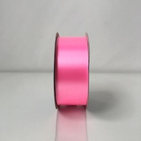 Rose Pink Poly Ribbon 91m