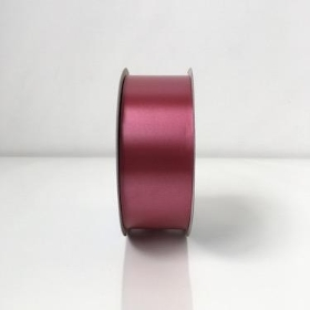 Burgundy Poly Ribbon 91m