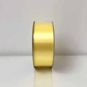 Light Yellow Poly Ribbon 91m