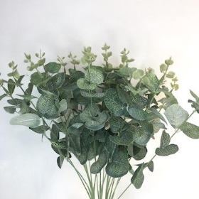 Pale Green Eucalyptus Bush 49cm