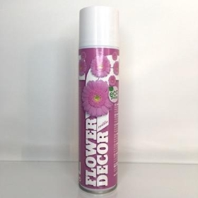 Flower Spray Paint Lilac