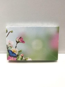 Small Florist Cards Butterfly And Flower