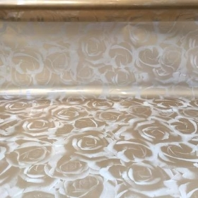 Gold Luxury Rose Cellophane 100m