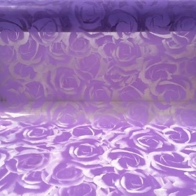 Lilac Luxury Rose Cellophane 100m