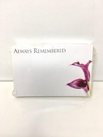 Small Florist Cards Always Remembered
