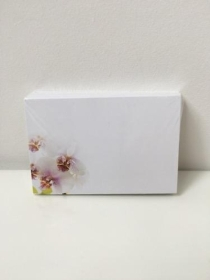 Florist Cards White Orchid