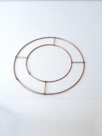 8 Inch Wire Wreath Rings