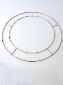 Wire Wreath Rings 12 Inch
