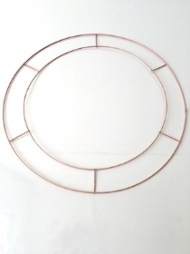 14 Inch Wire Wreath Rings