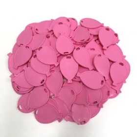 Pink Balloon Shape Weights