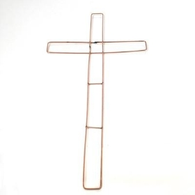 18 inch Wire Cross Frame