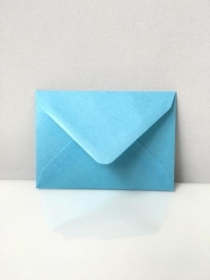 C7 Pearl Baby Blue Envelopes