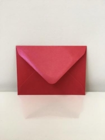 C7 Pearl Ruby Red Envelopes