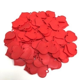 Red Heart Shape Balloon Weights