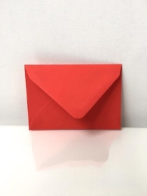 C7 Envelopes Poppy Red