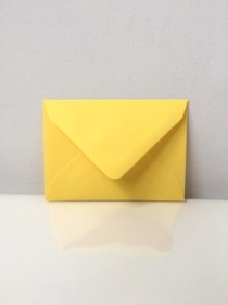 C7 Envelopes Canary Yellow