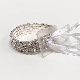 Clear Diamante Bracelet