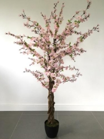 Artificial Blossom Tree Light Pink 5ft