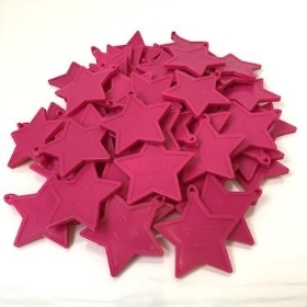 Balloon Weights Cerise Star