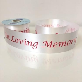 In Loving Memory Poly Ribbon